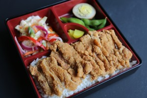 Fried Pork Chop Bento