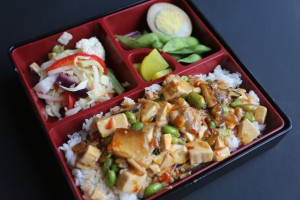 Spicy Tofu Bento