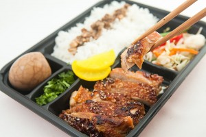Taiwan bento box lunch